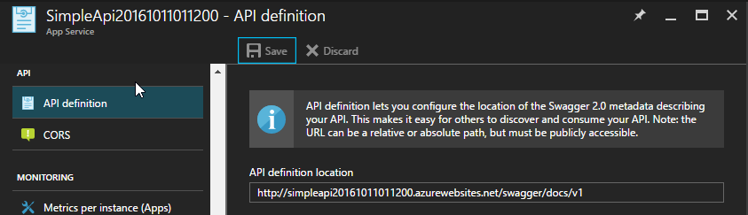 Set API Definition