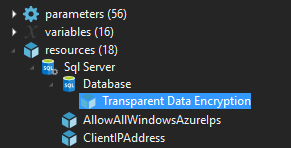 Enabling Transparent Data Encryption on Azure
